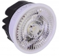 Preview: Flacher LED-Einsatz ATUM FLAT, D. 50mm, H = 30mm, 40°