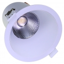 LED-Downlight 230V dimmbar, 9W, Warmweiss
